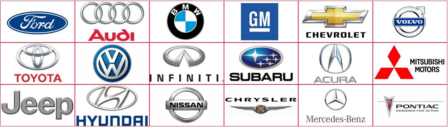 car companies logos combined